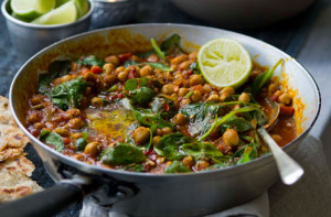 Chickpea-and-Spinach-Curry