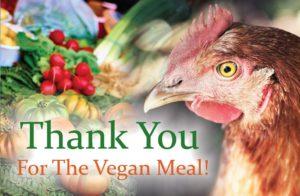 Sarx Vegan Thank You cards